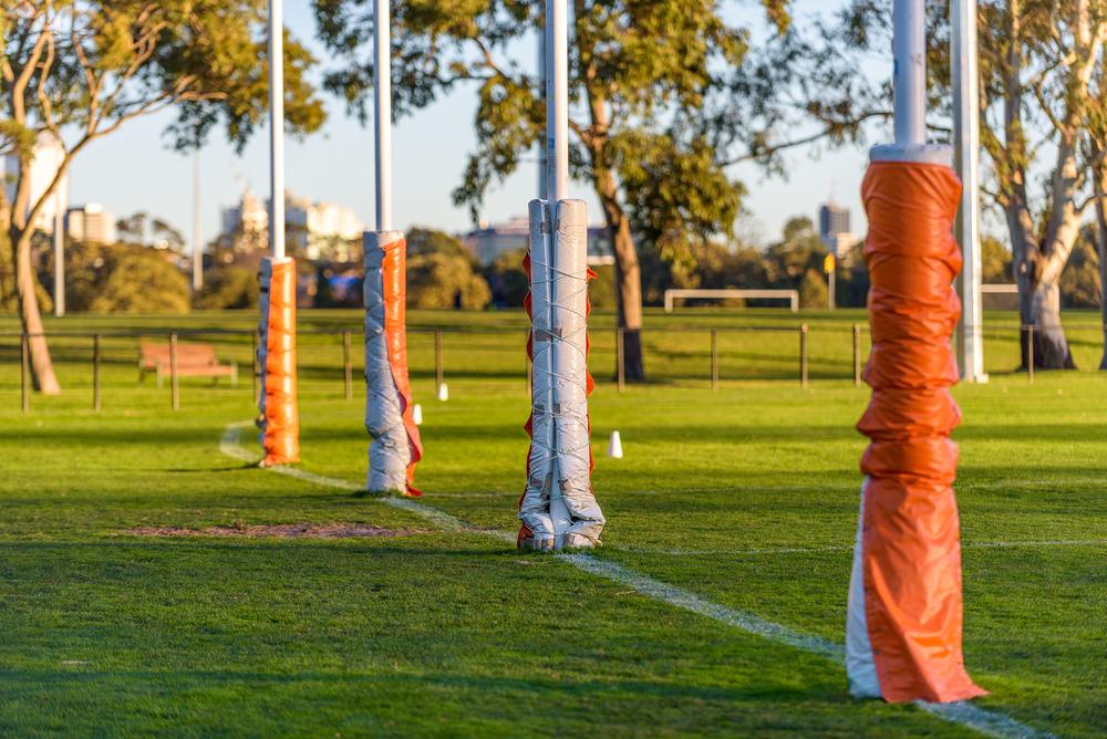 Photo of AFL goal posts