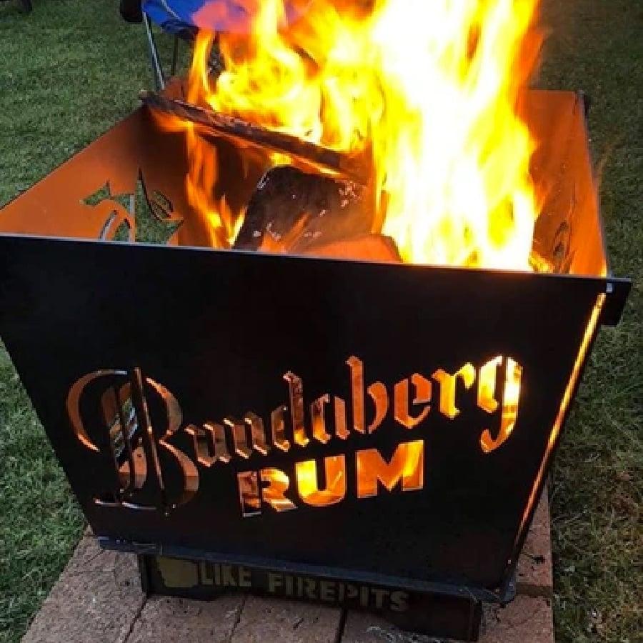 bundaberg rum fire pit