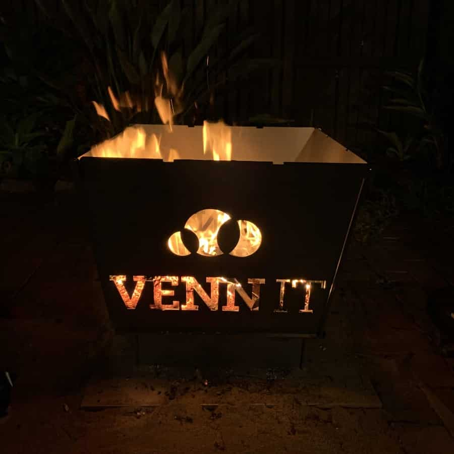 corporate gift fire pit