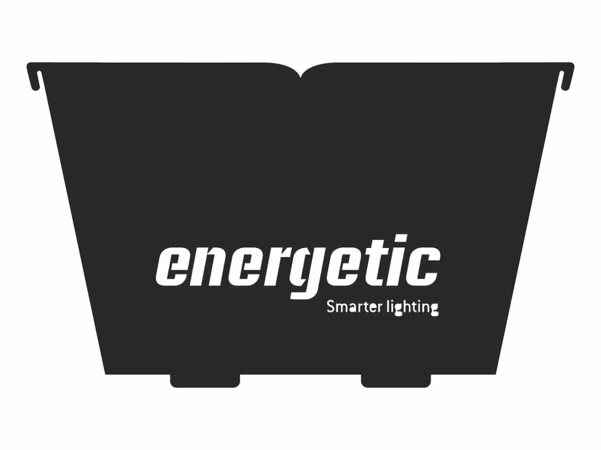 corporate logo fire pit