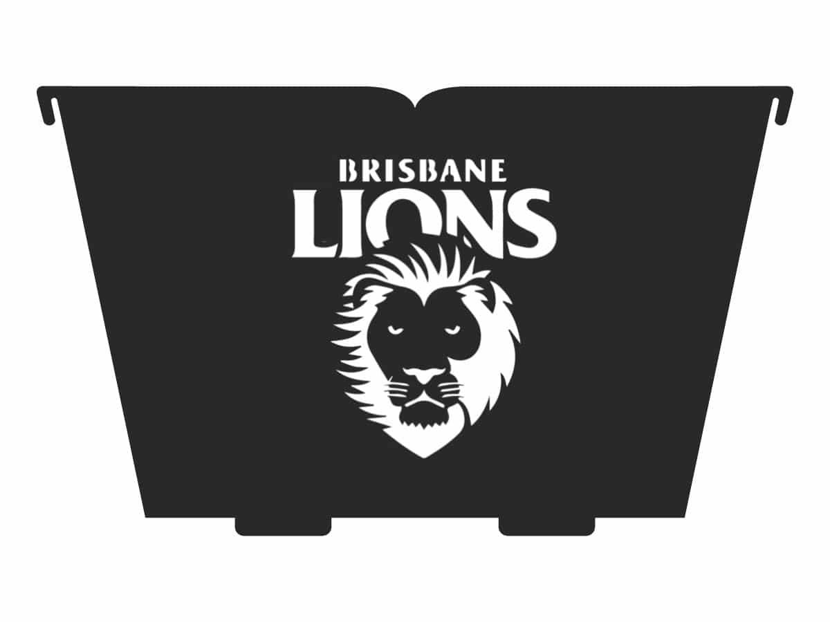 brisbane lions fire pit