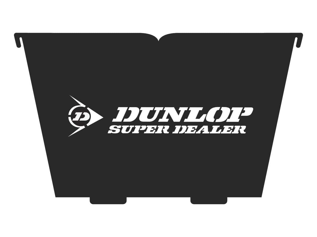 dunlop tyre corporate fire pit