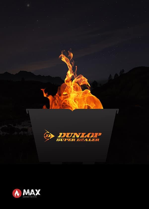 dunlop custom fire pit