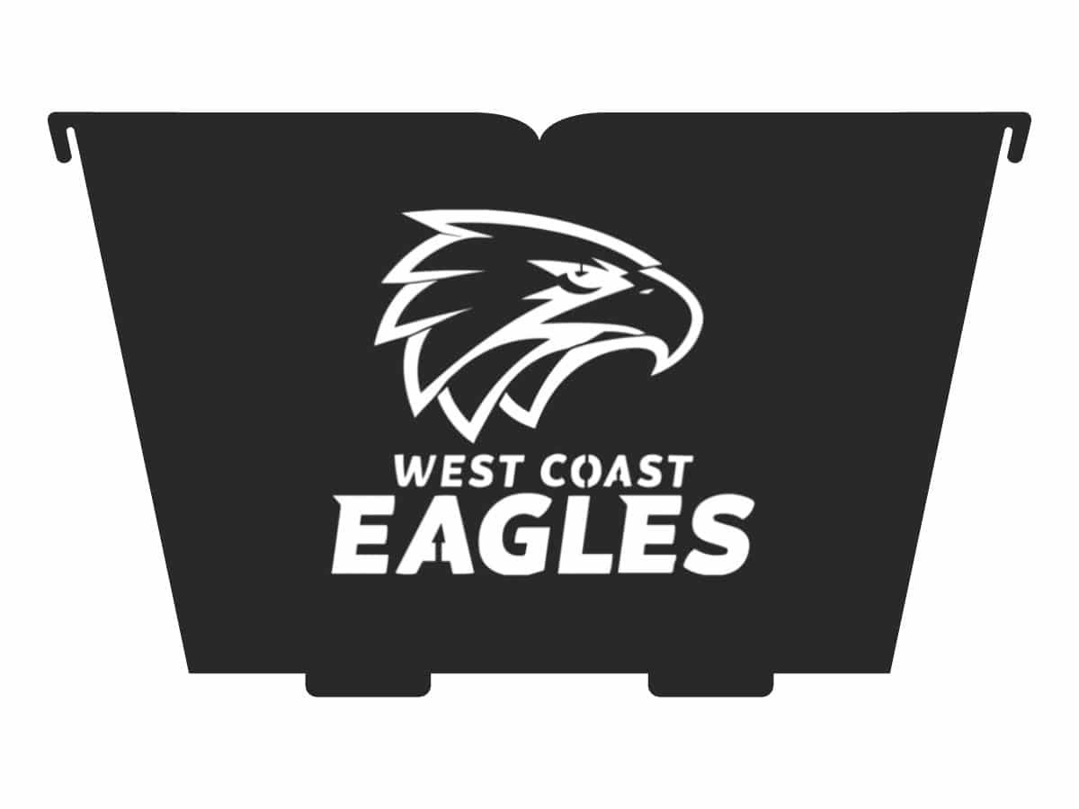 west coast eagles fire pit