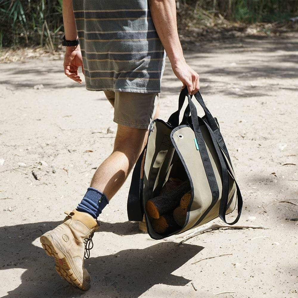 fire wood carrying bag