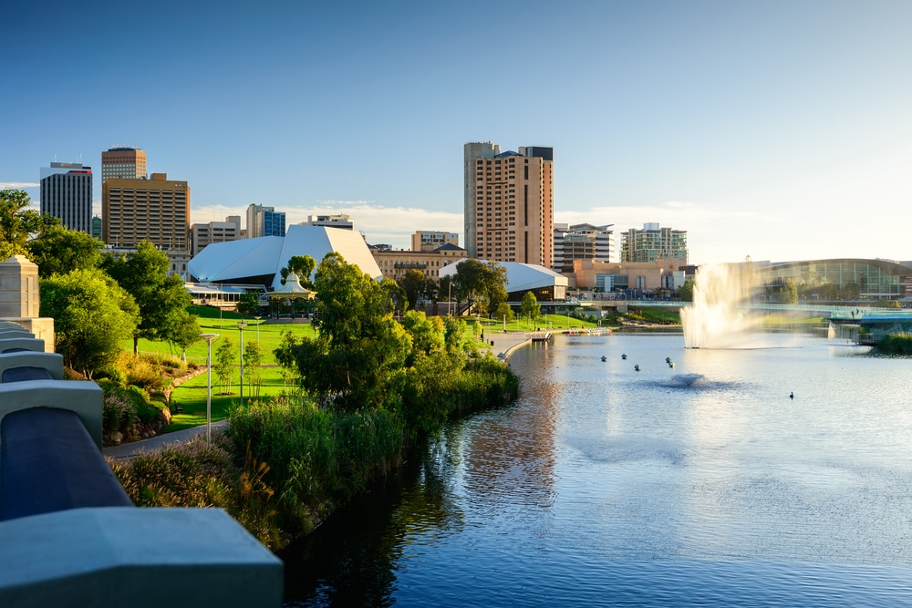 photo of Adelaide city