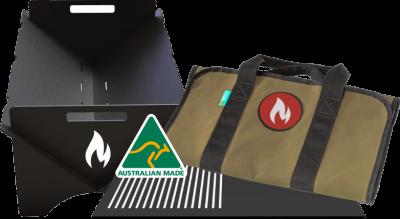 portable fire pit bundle